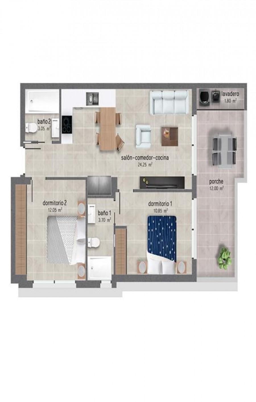 2 Rum Lägenhet Till Salu